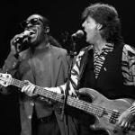 Paul McCartney and Stevie Wonder